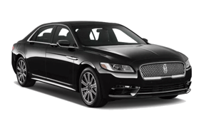 a black limousine car